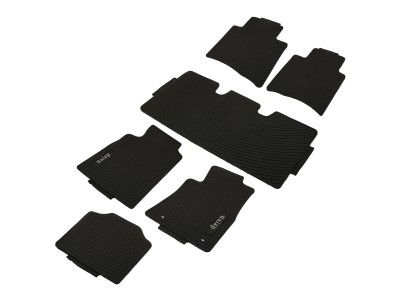 Toyota Crysta Premium Latex Rubber Mat