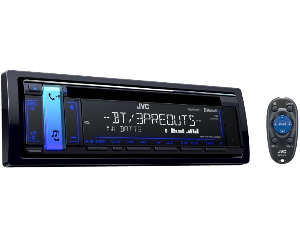 JVC KD-R991BT 1-Din