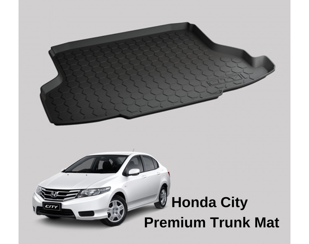 Honda City Premium Trunk Mats