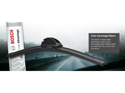 "Bosch Clear Advantage 26"" Flat Blades - wiper"