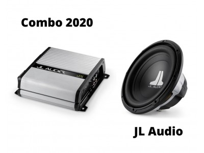 Combos 2020 JL AUDIO 12W0v3-4 (2pcs) & JLAudio JX500/1D With Woofer Box