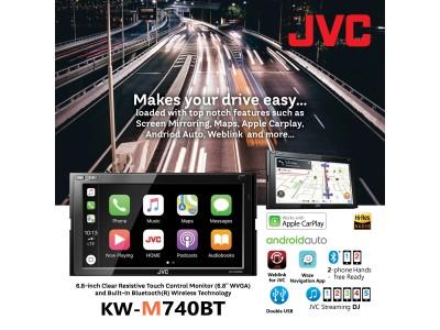 JVC KW-M740BT