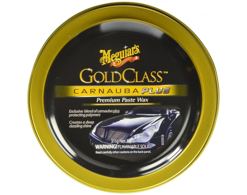 Meguiar's Gold Class Carnauba Plus Premium Paste Wax (311 ml)